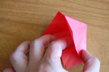 Оригами из бумаги цветы 29