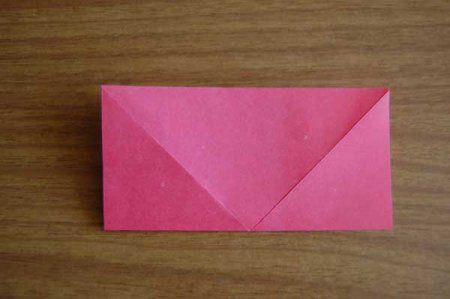 Оригами из бумаги цветы 4