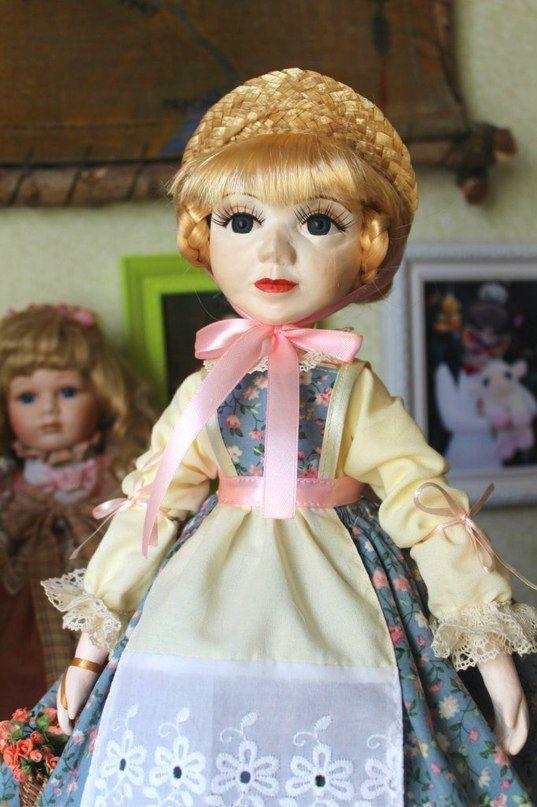 кукла глина полимерная