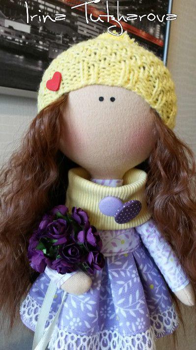 ручнаяработа кукла куклавподарок куклатильда тильда куклаизткани