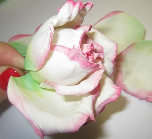 Цветы из фоамирана мастер класс 24