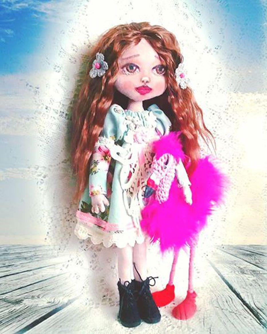 интерьерная авторская подарок домашний коллекционная декор кукла тканевая уникальный текстильная