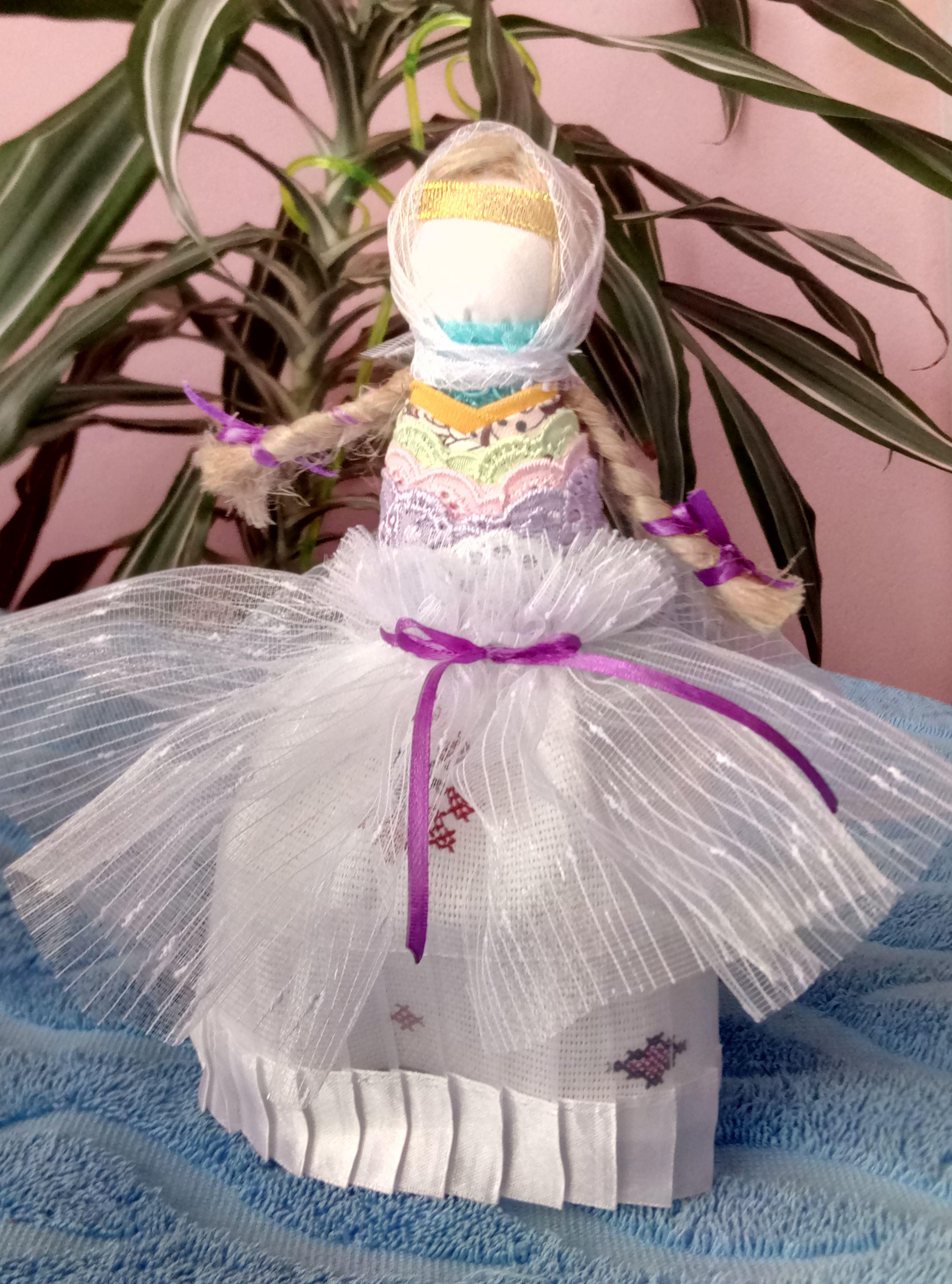 славянская подарок кукла оберег мартаталисман невеста 8