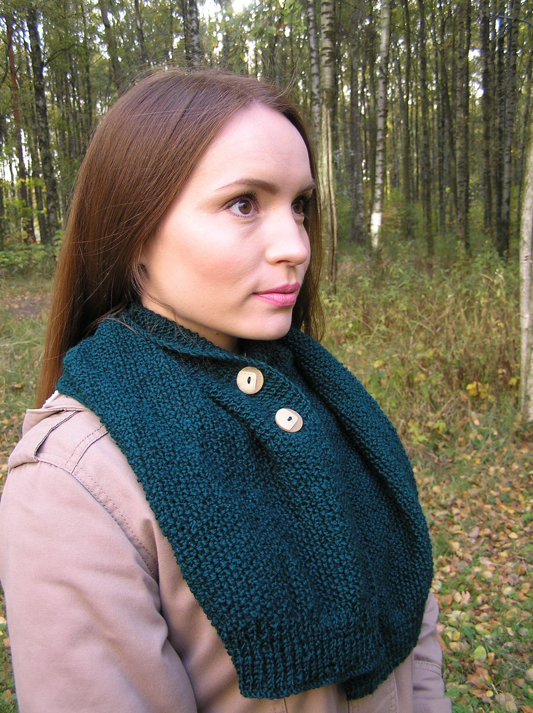 шарф-воротник шарфженский шарф