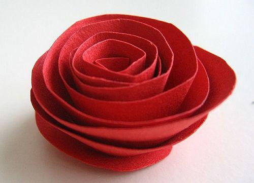 Цветы из бумаги своими руками 5