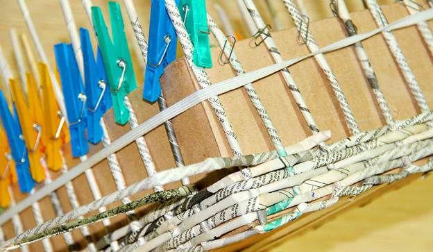 Плетение из газет 21