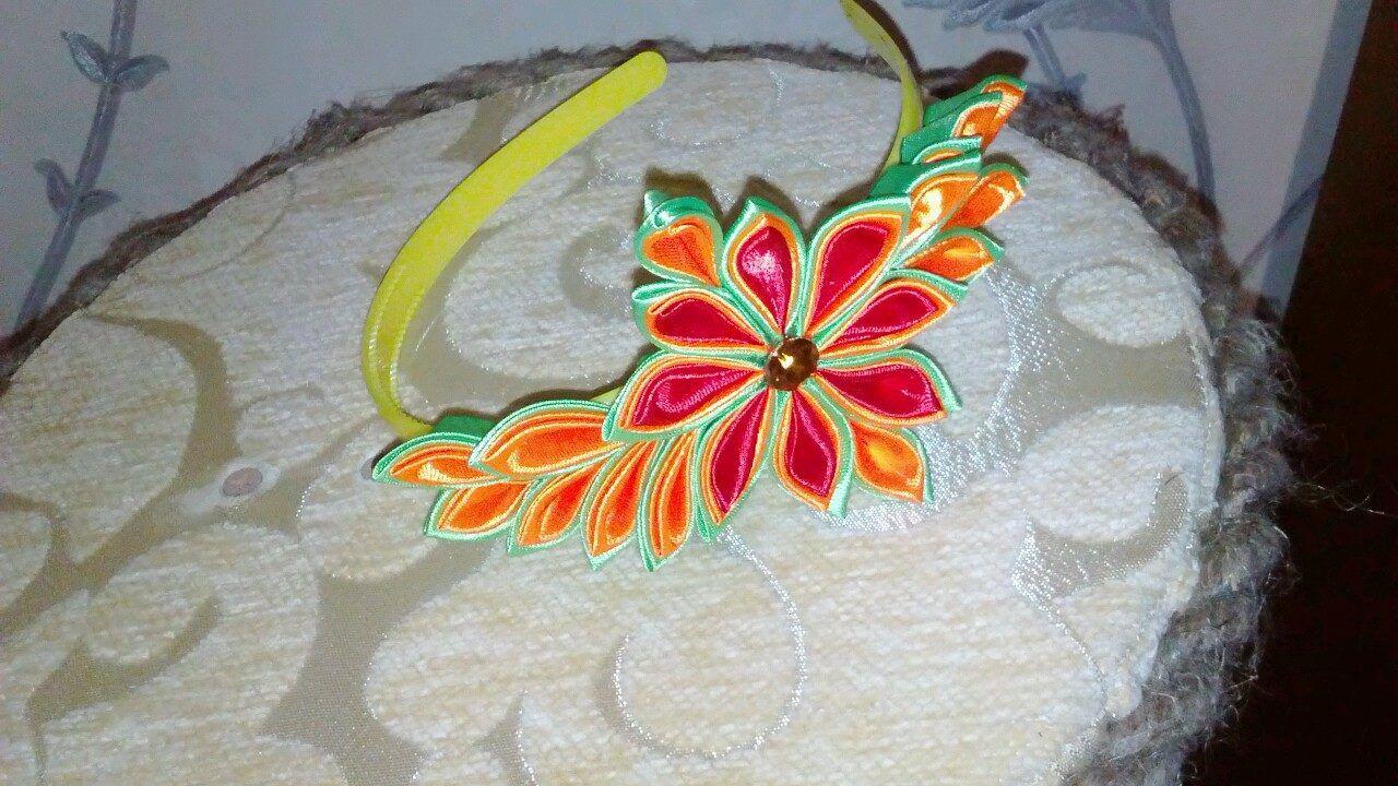 голову цветы. обручи банты на девочки ободки украшение для канзаши