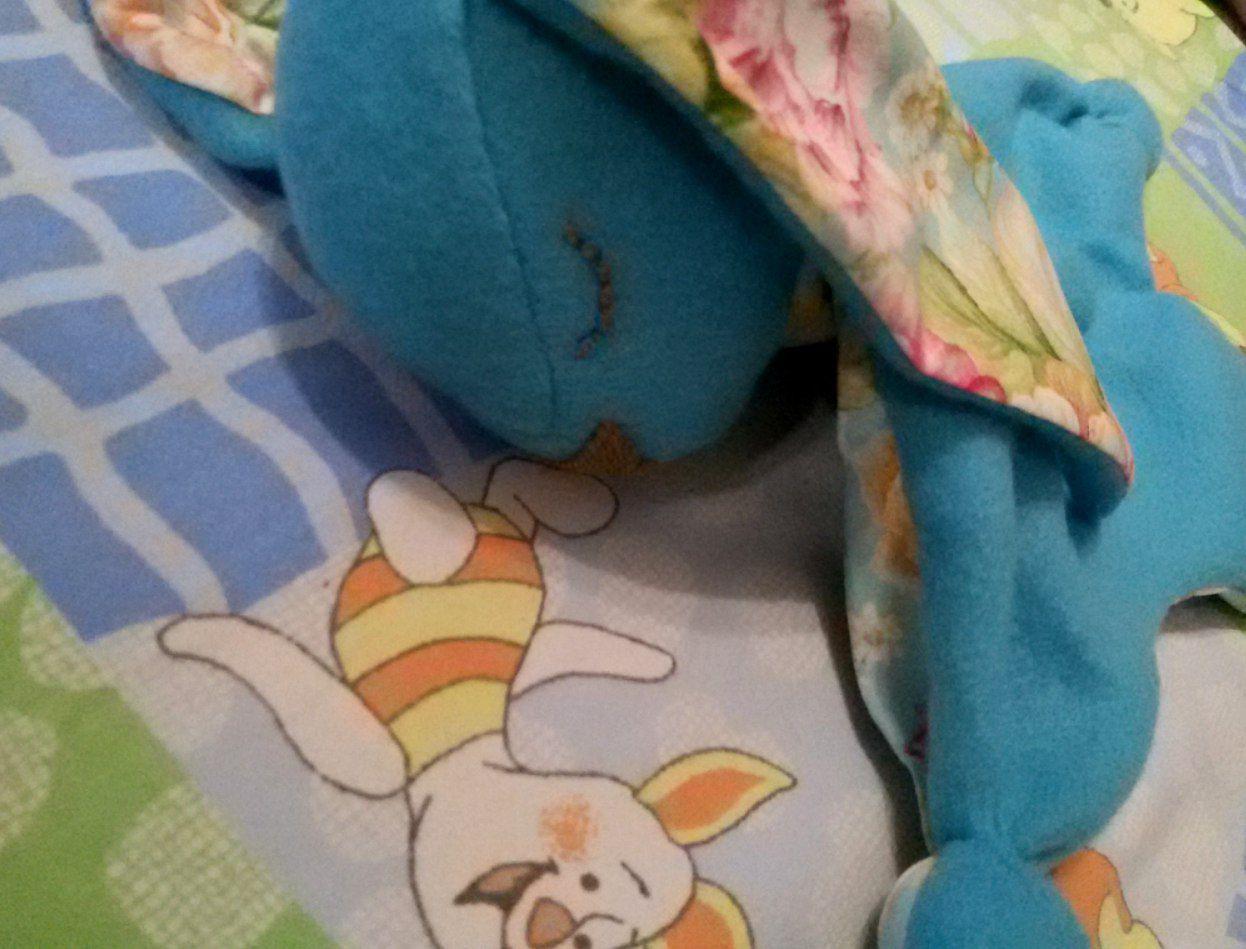 комфортер ребенок малыш зайка подарок