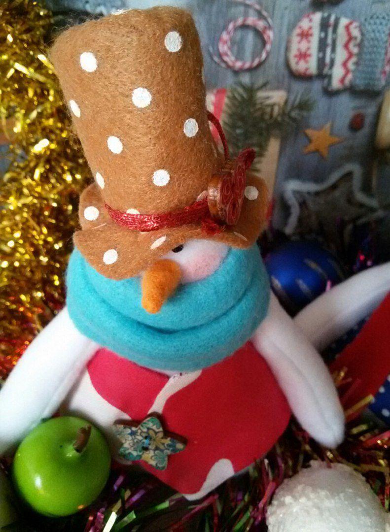 снеговик сувенир новыйгод праздник подарок