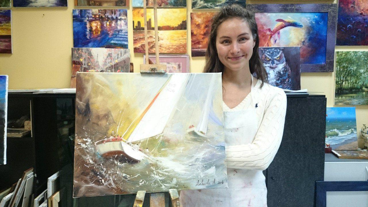 урокживописи школаживописи рисоватьлегко картиназа3часа студияживописи рисуемморе айвазовский живописьмаслом живопись мастеркласс
