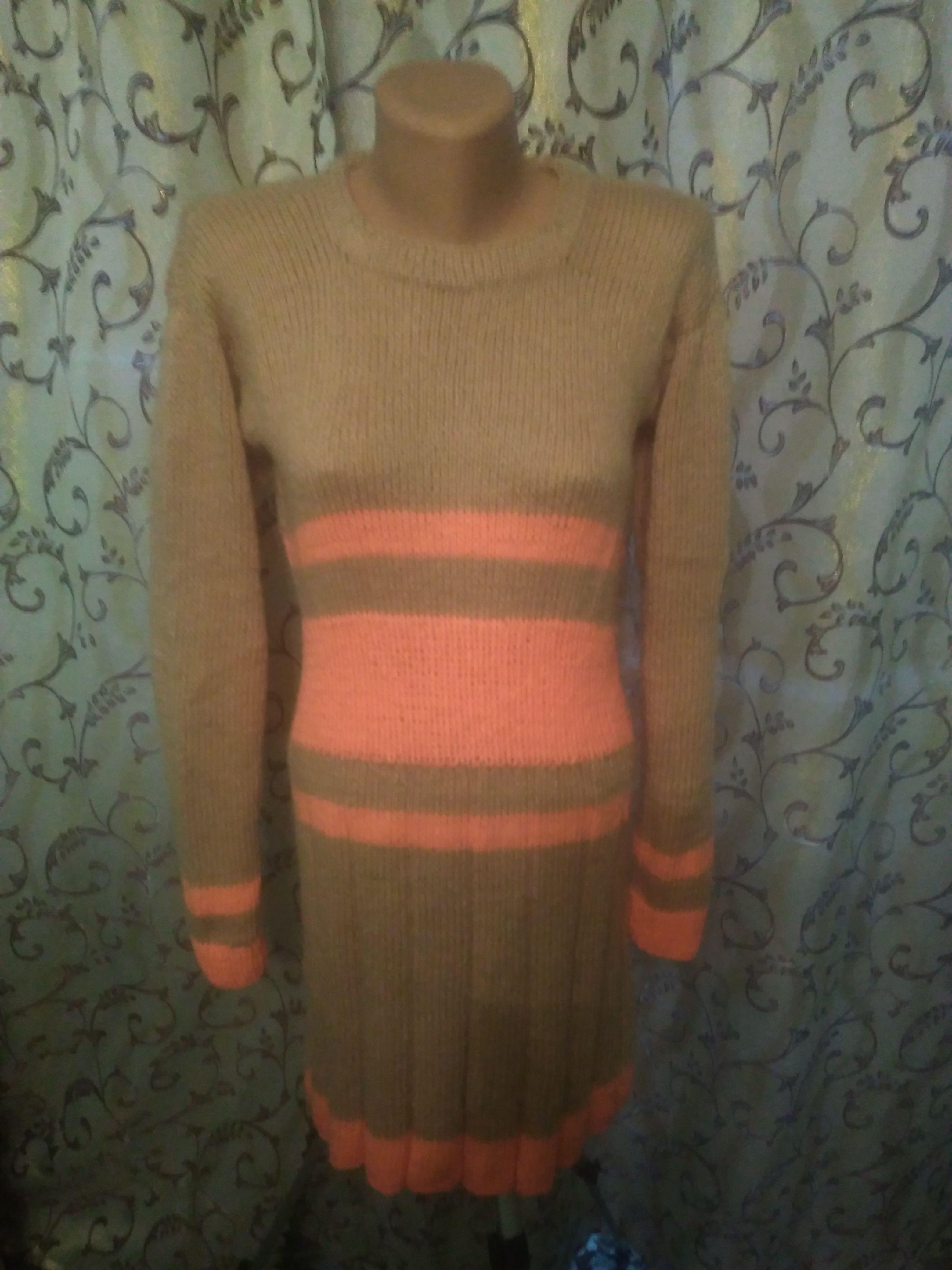 работа платье вязание ручная