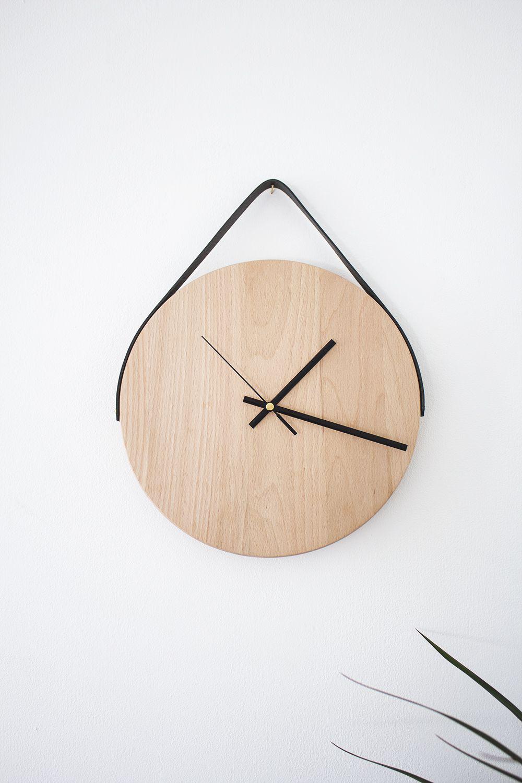 минимализм комната декор механизм интерьер дизайн доска часы дерево дом