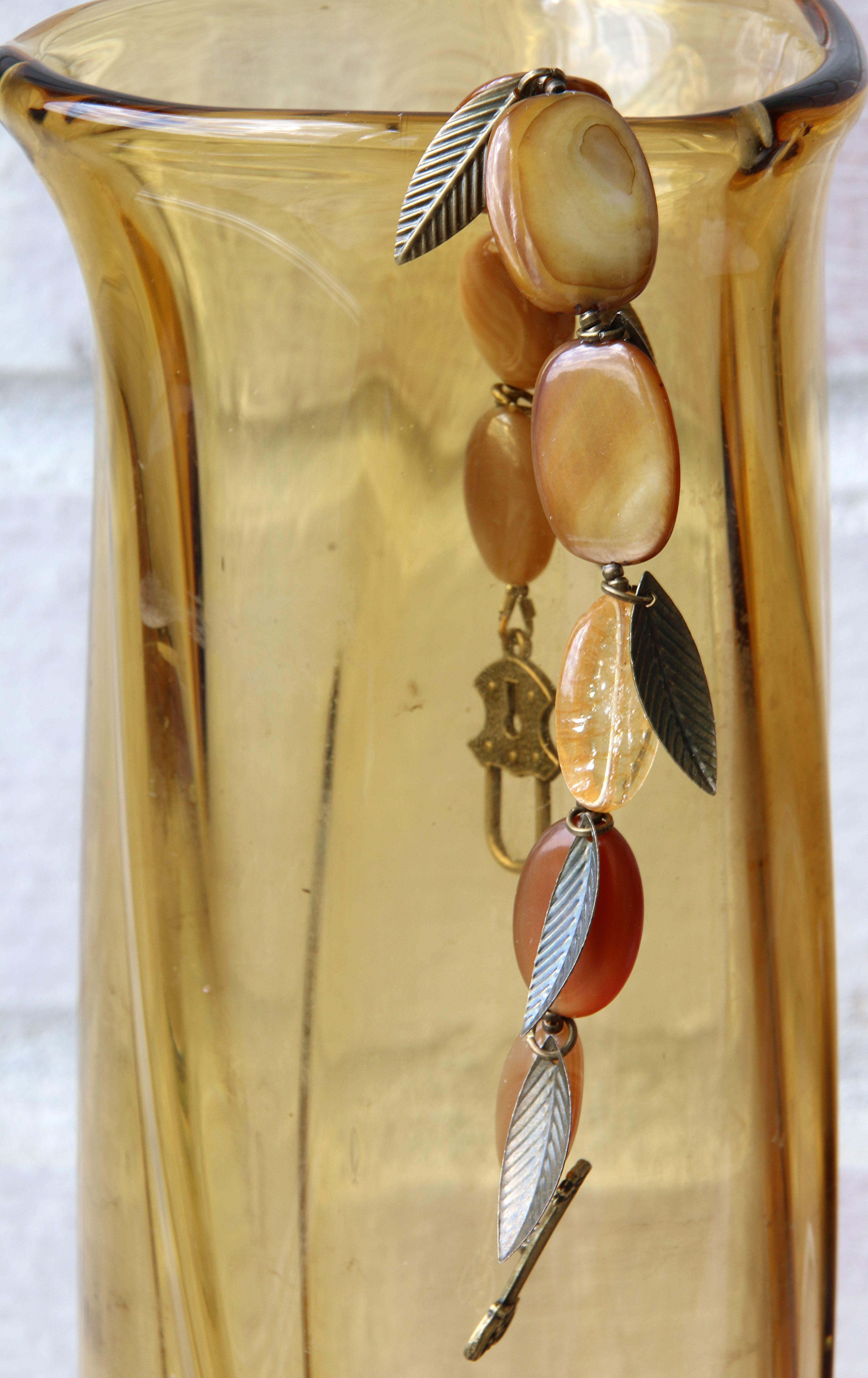 овальный золотистый браслет бронзовый на коричневый солнечный осенний оливковое руку украшения натуральные