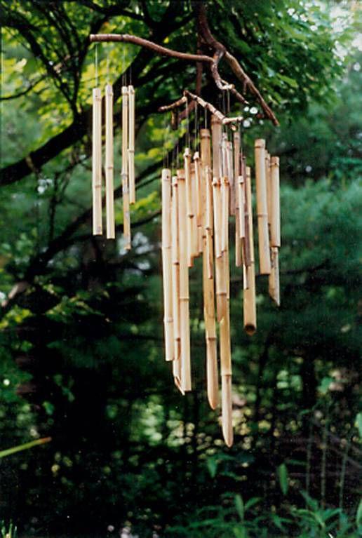 сада ветра поделкидети бамбуковые музыка палочки для идеи