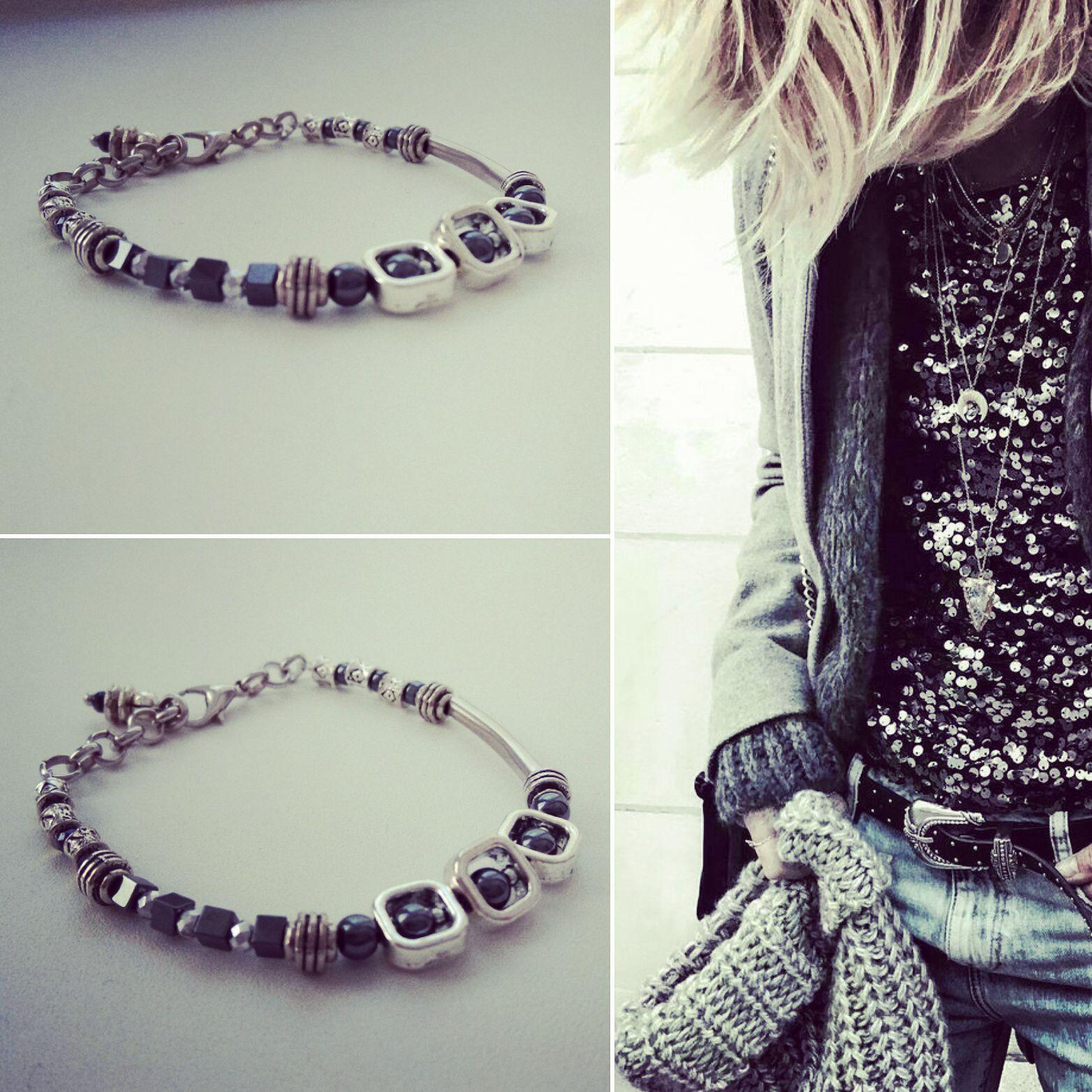 handmade гематит украшениедлятебя камни стильныйаксессуар украшение браслет мода