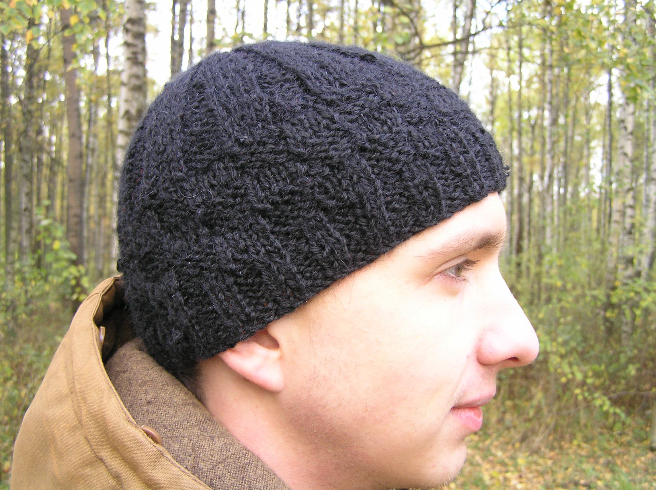 шапкаженская шапкамужская шапкавязаная шапказимняя шапка черный серый