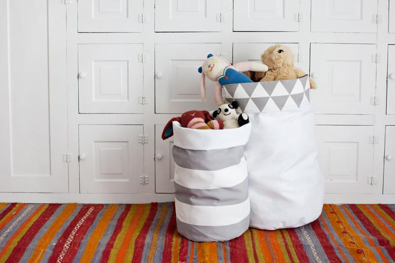 быт домашний корзина игрушек ля текстиль шитье дети