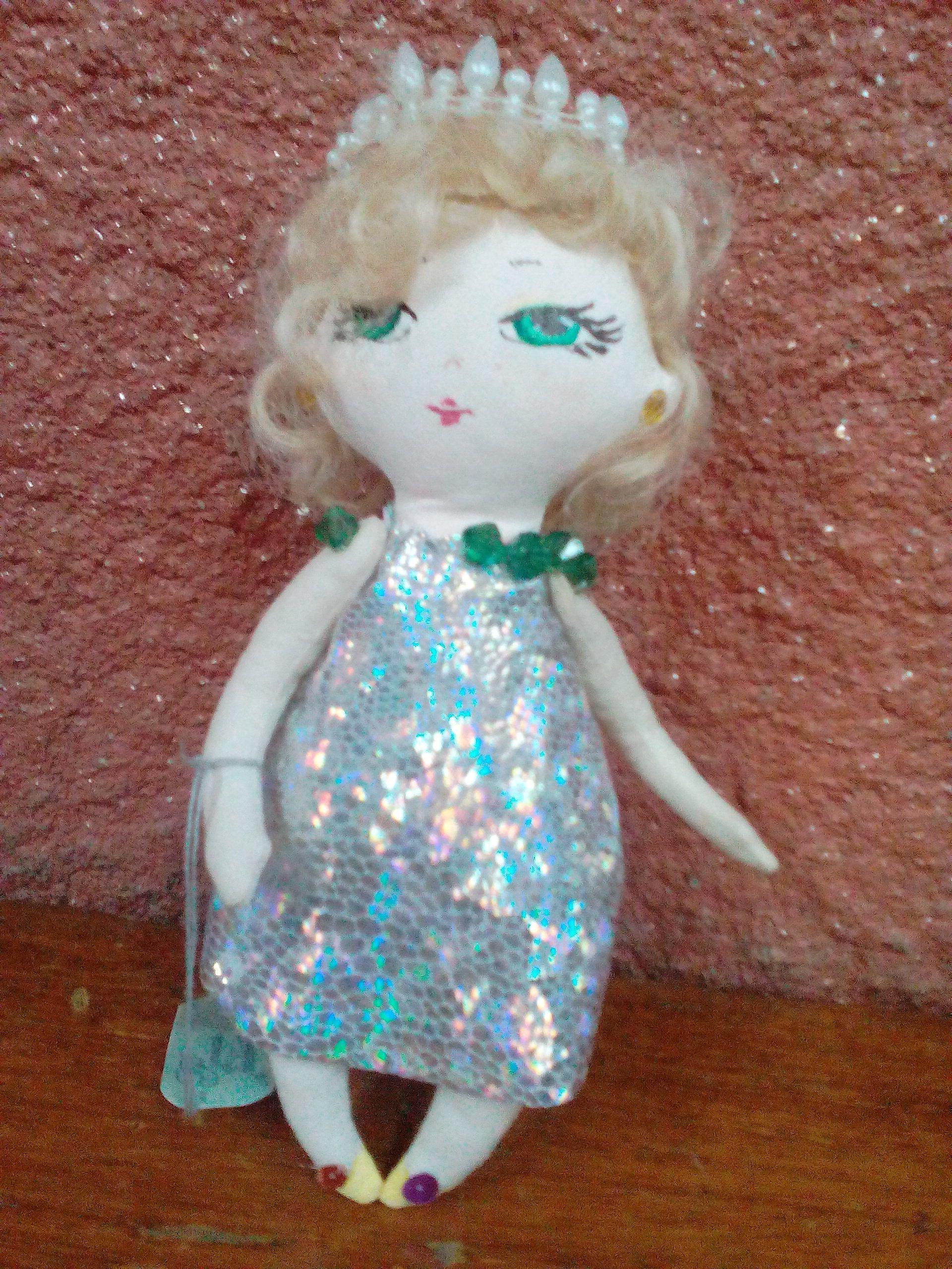 детям кукла текстильная принцесса подарок