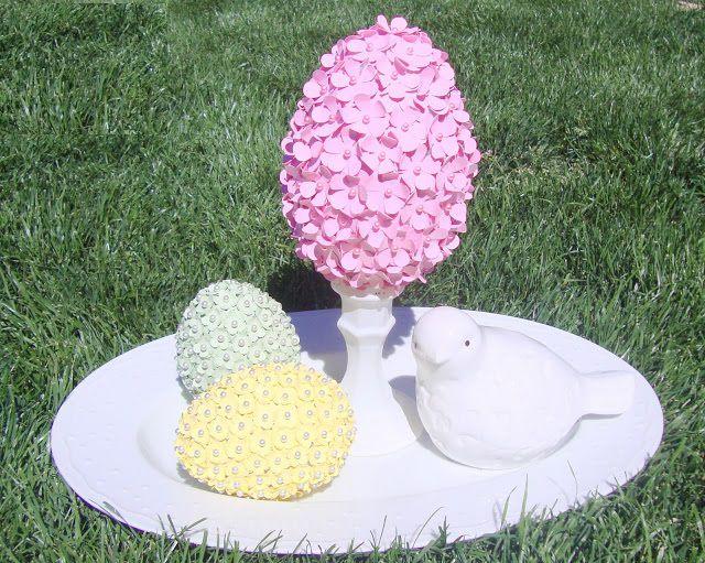 дома цветочное яйцо декора праздник для поделки идеи пасха руками своими