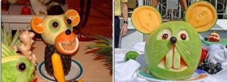 Поделки из фруктов своими руками 1