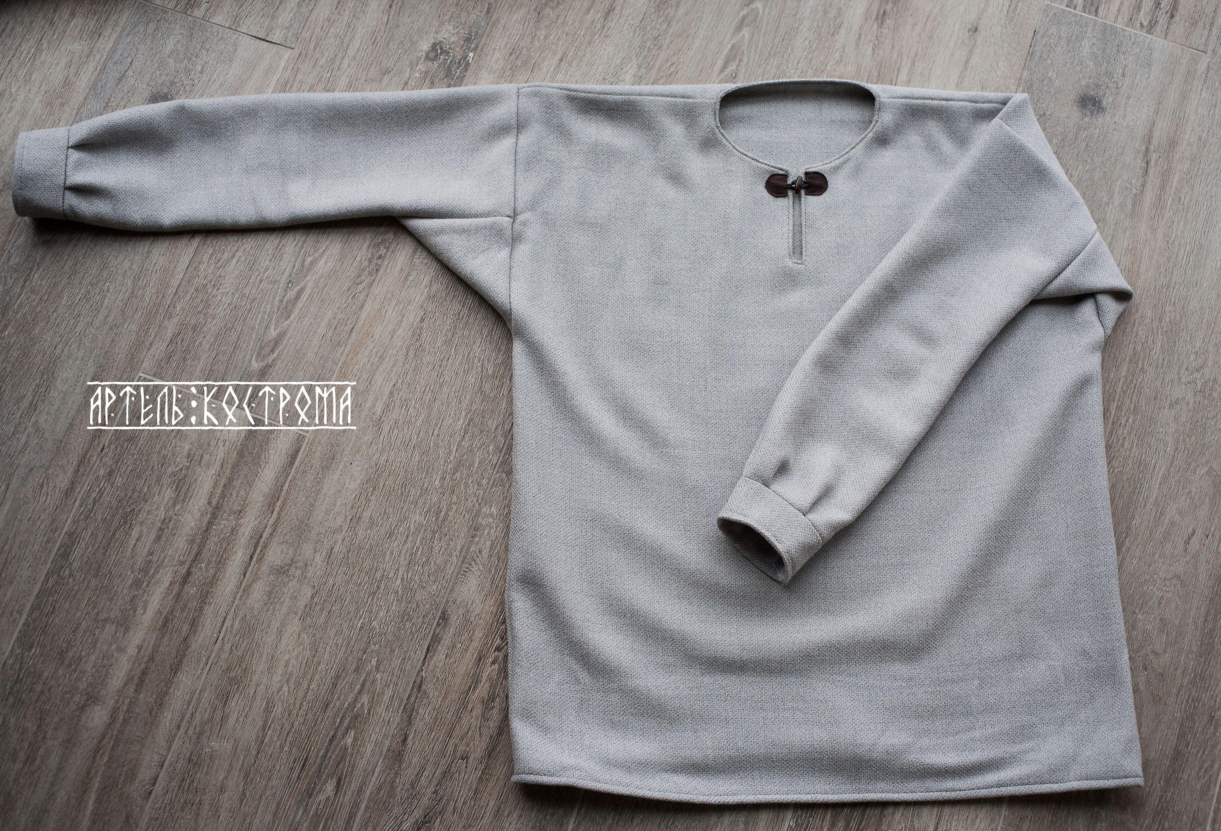 рубаха кострома артель мужчин зима шерсть для подарок