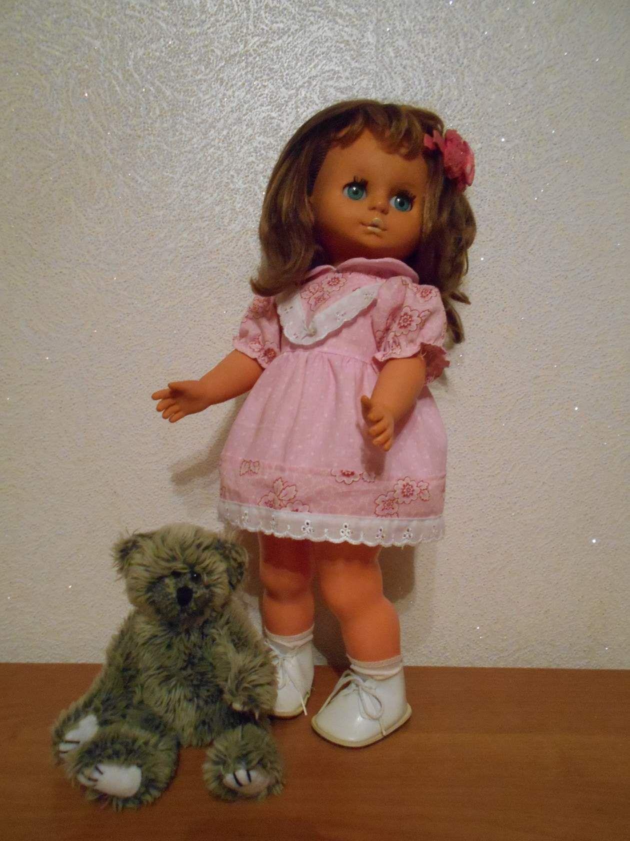 кукольная кукла гдр немка платье одежда