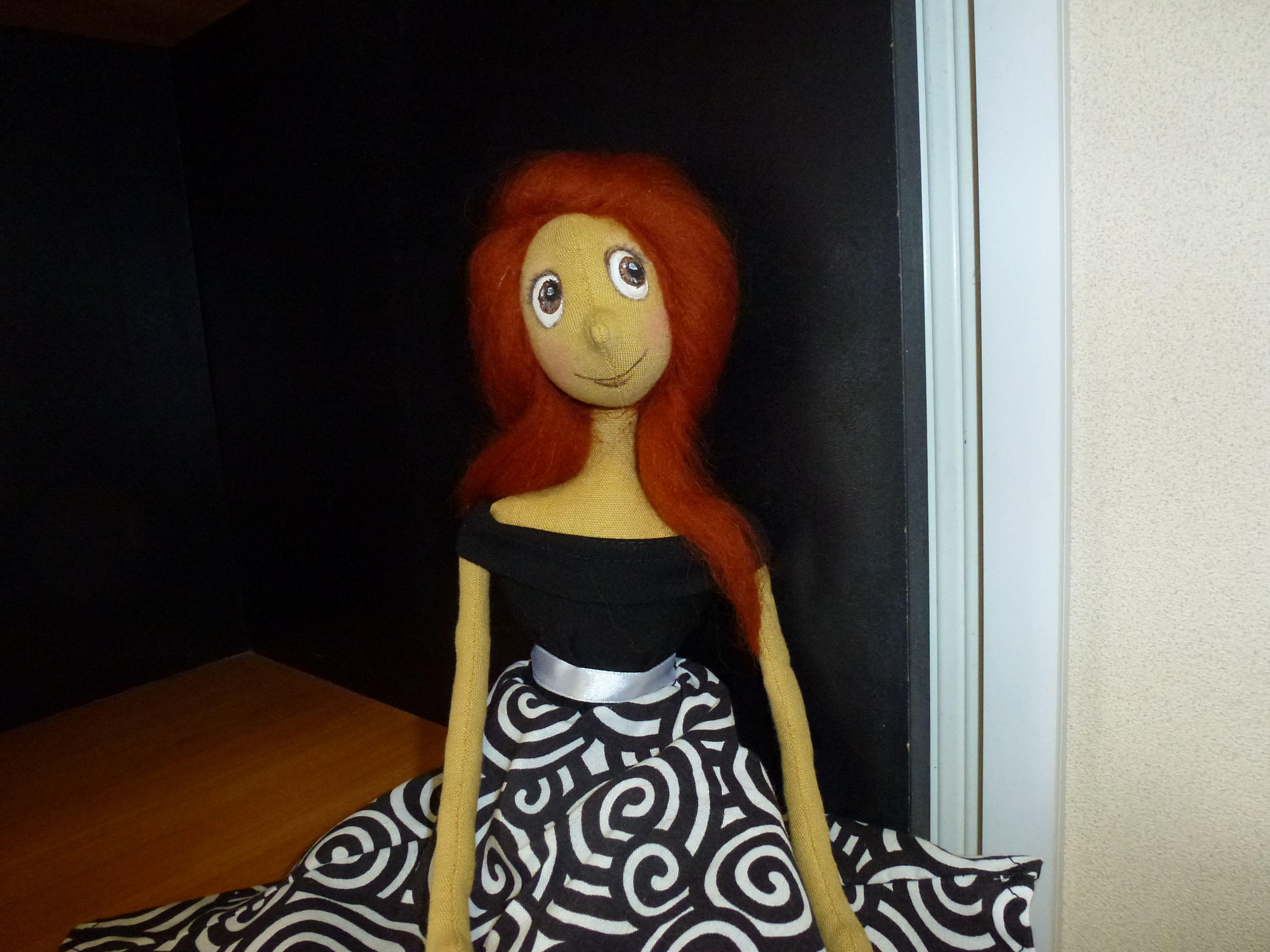 ручная кукла текстильнаякукла