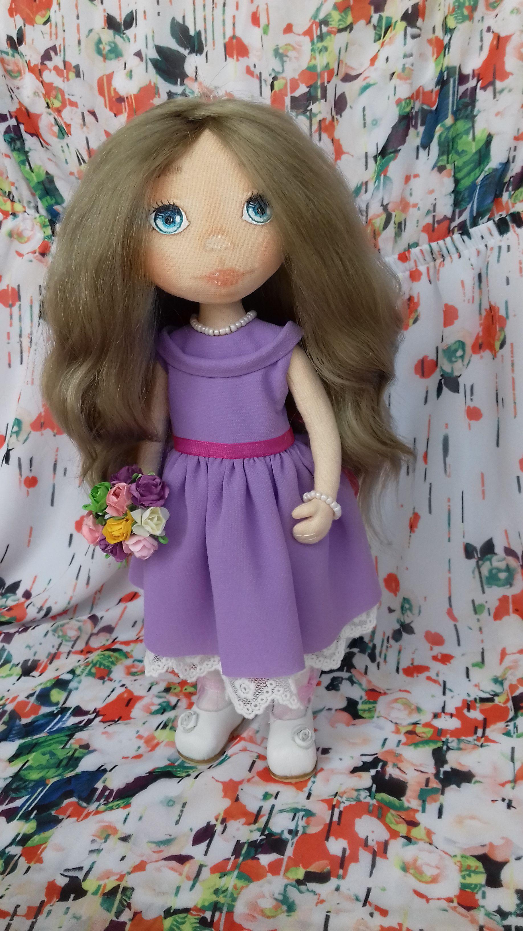кукла ручной работы текстильные куклыназаказ куклы