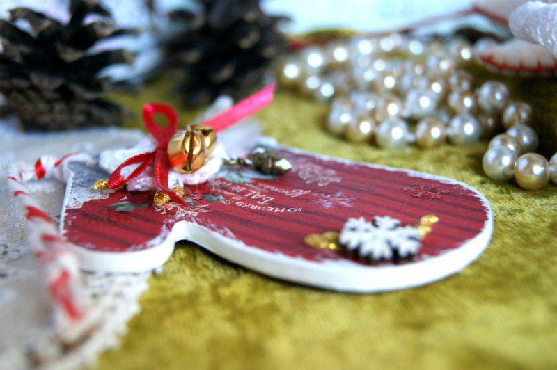 мандарин подарок варежка елочнаяигрушка новыйгод колокольчики