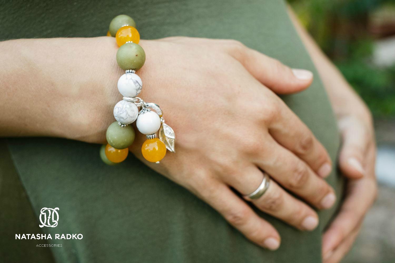 кахолонг жадеит украшение браслет натуральные серебро камни подарок