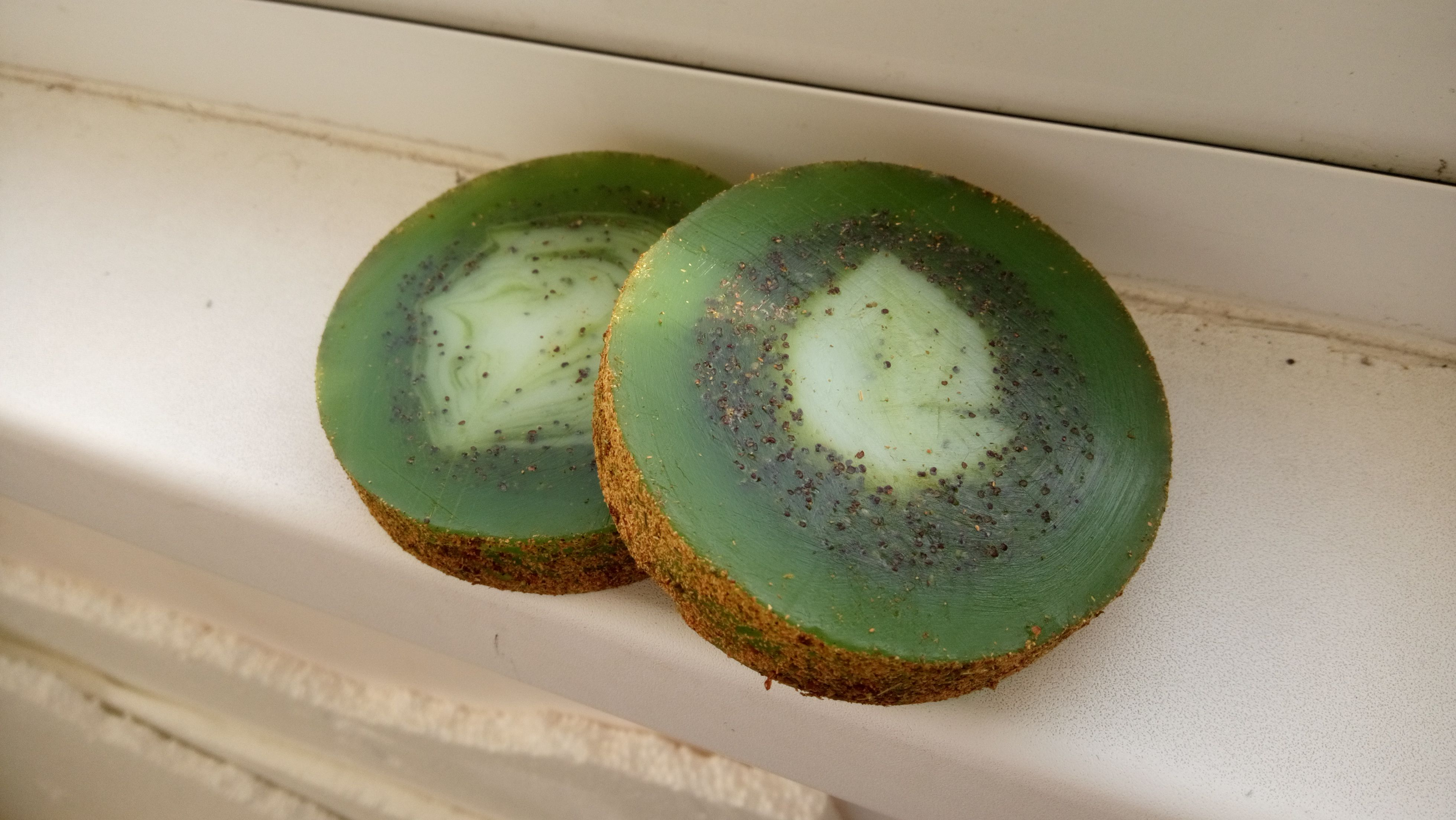 зелёный мыло пахнет киви травы натуральное вкусно фрукты