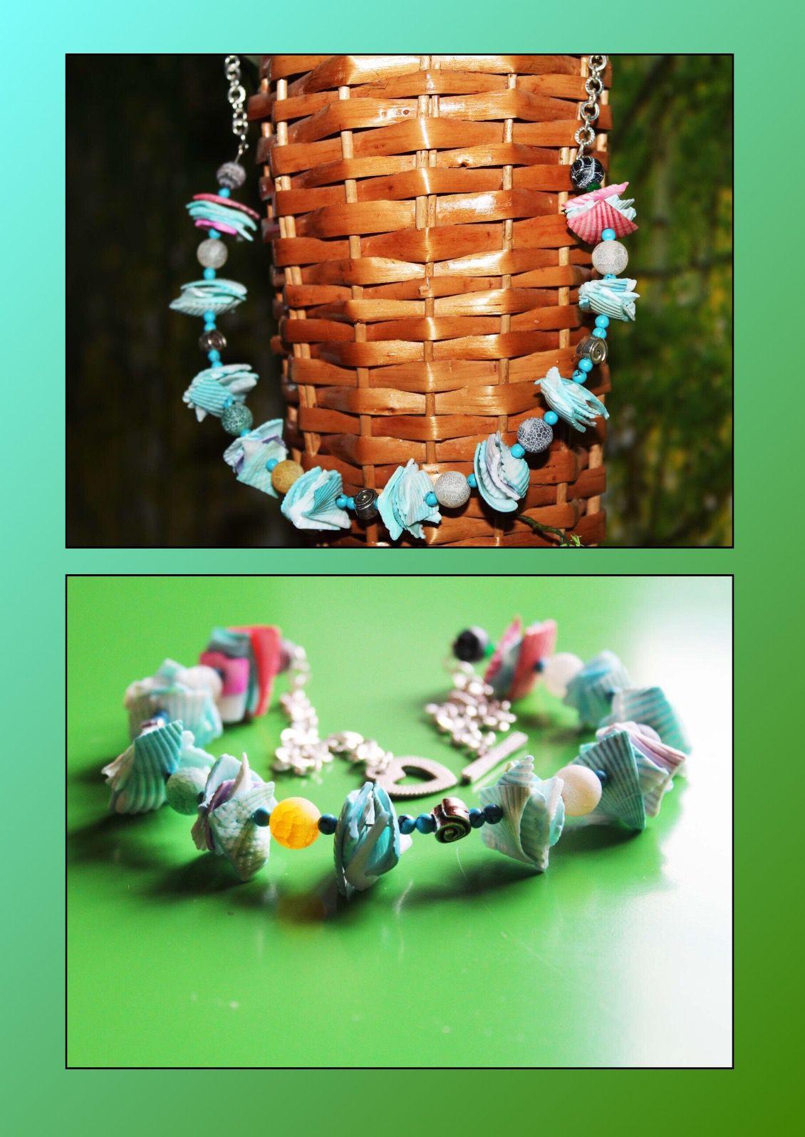 пляж ракушки украшения подарки handmade агат бирюза ручнаяработа море