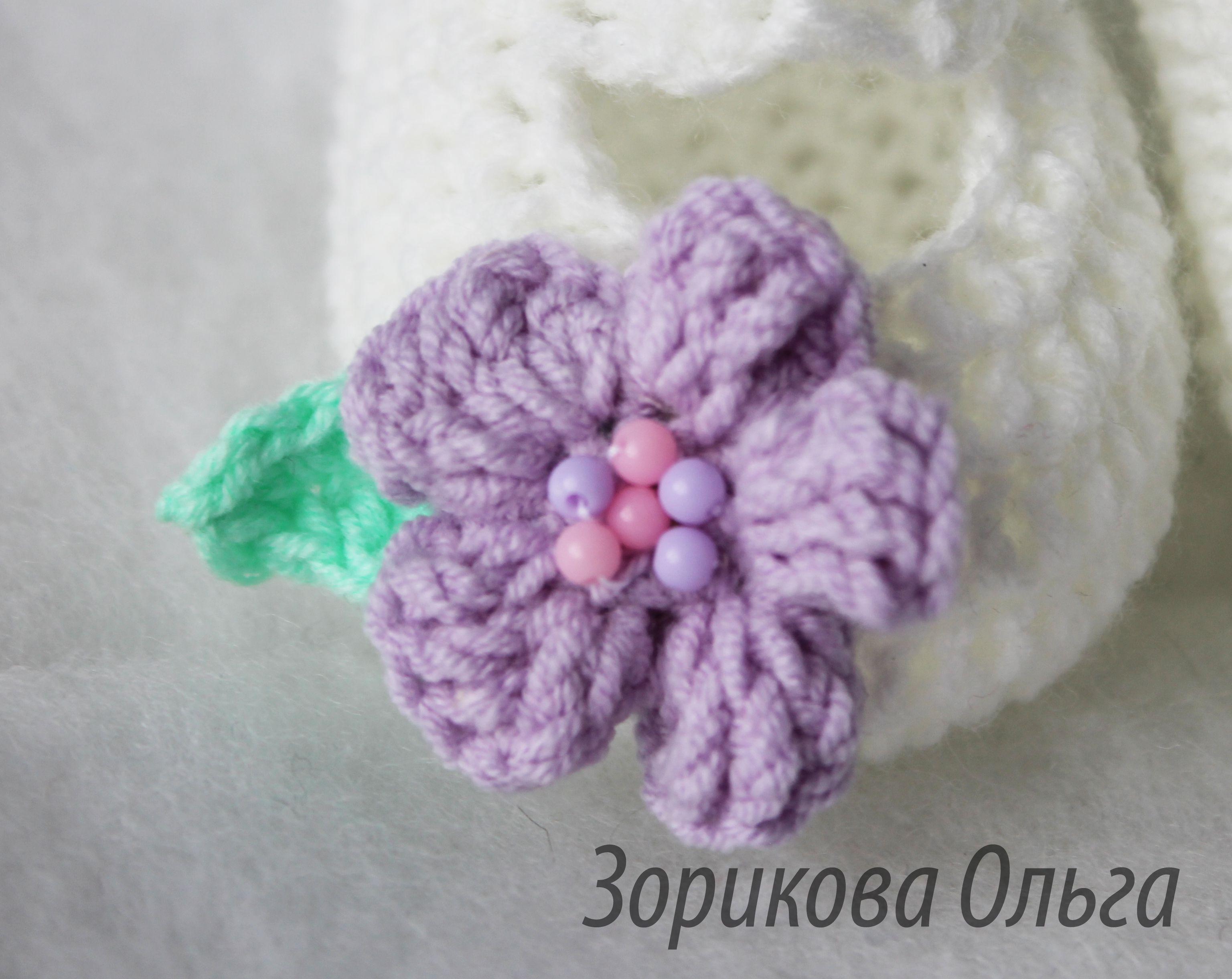 для вязание крошек малышке пинетки
