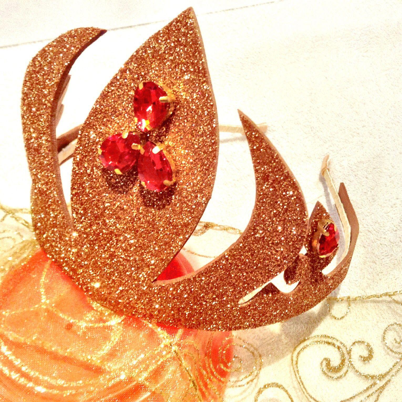 девочка год новый ободок праздник корона