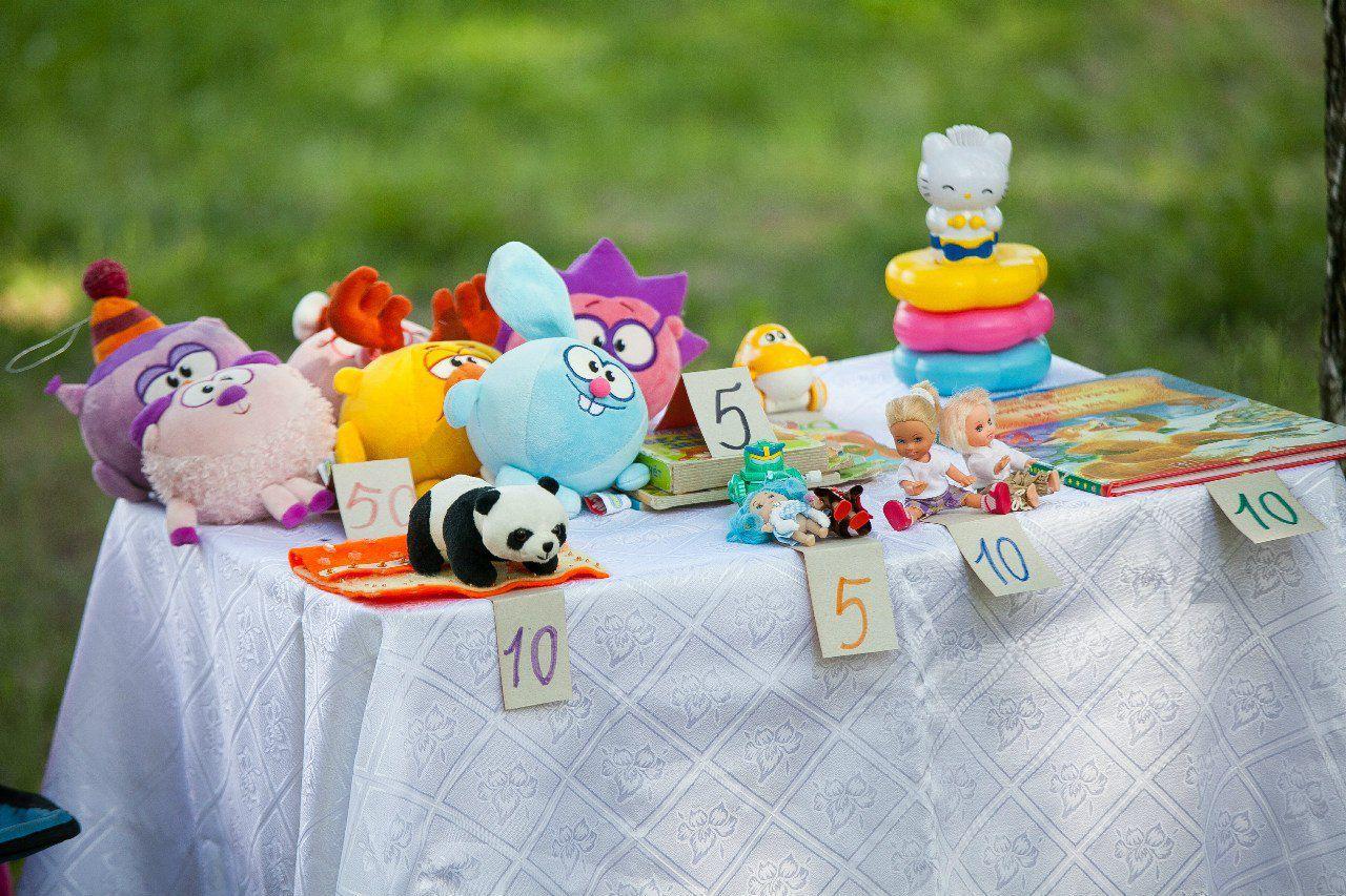 игрушки выставка ярмарка дети