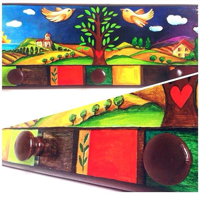 интерьера предметы работа ручная вешалка деревянная подарки