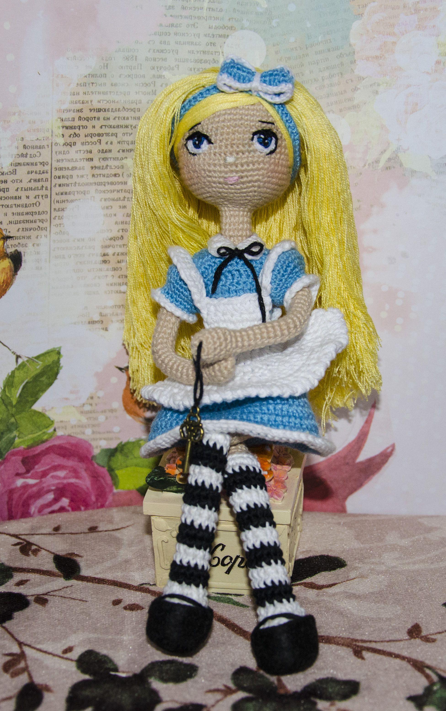крючком ручная работа кукла каркасная