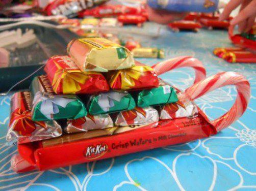 Сладкие подарки для детей своими руками 8