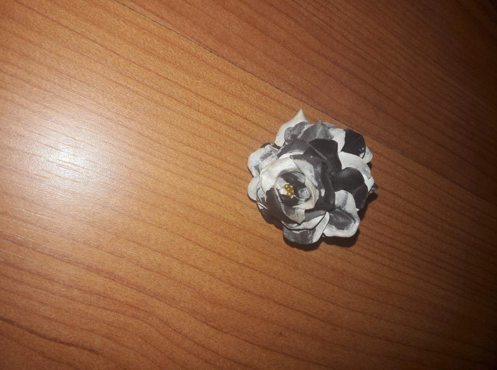 руками подарок эксклюзив цветок украшение хендмейд кольцо своими