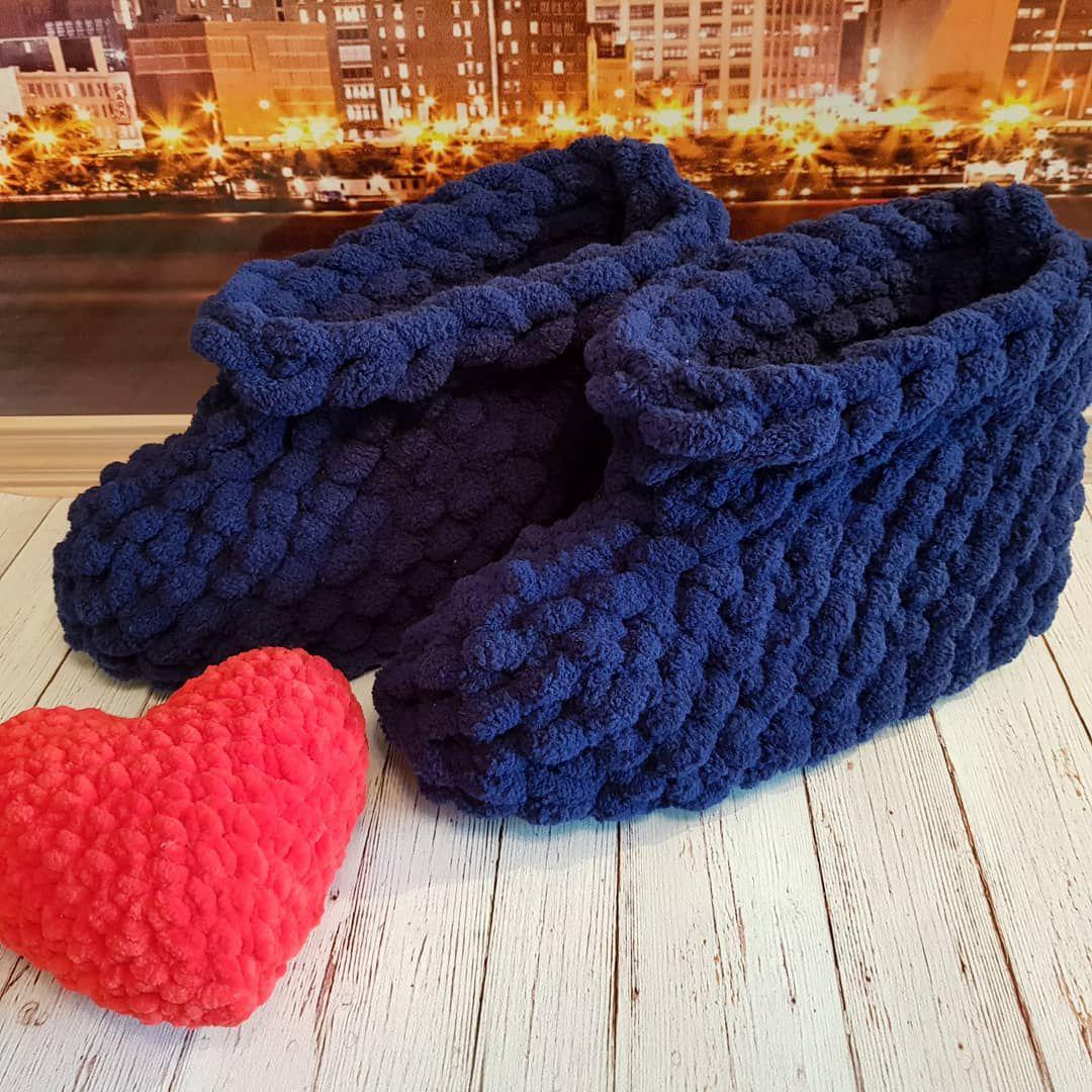 вязание тапочки угги самара