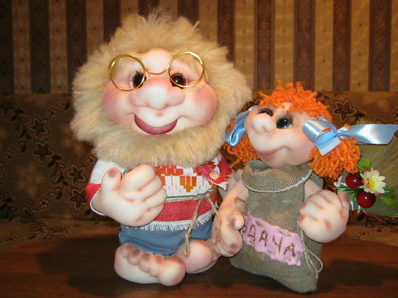 авторские персонажи сказочные чулочные куклы подарки