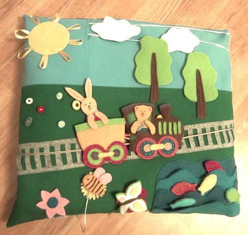 малыши игрушка подушка шитье развивающая дети