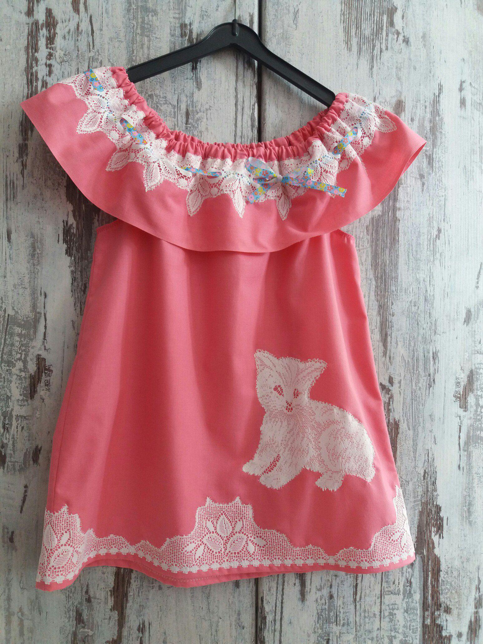 девочка платье кружево розовое