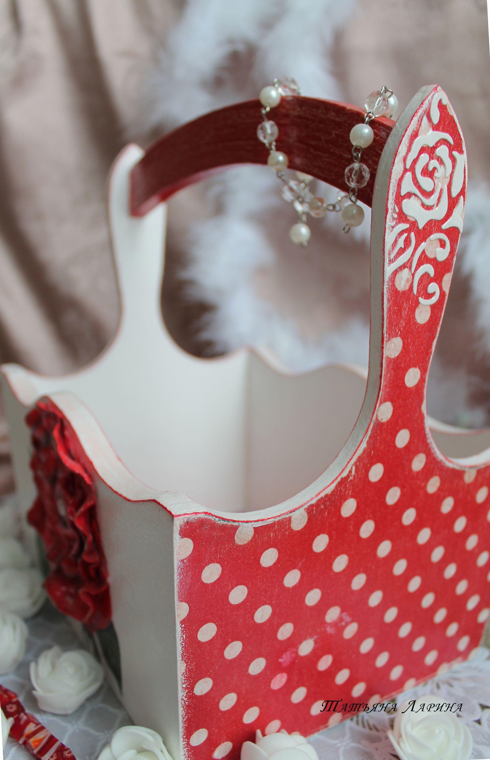 лукошко женщине подарок корзинка