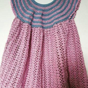 dress crochet крючком нарядное girl for summer платье вязаное летнее для knitted девочки розовый buy купить gift девочкам