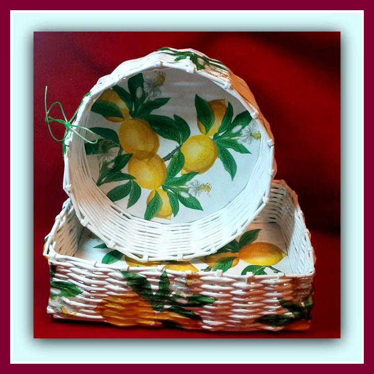 авторская подарочные дома плетение бумажные кухня ручная посуда для бабушке продажа дача декупаж купить декоративная изделия работа наборы другое подарки