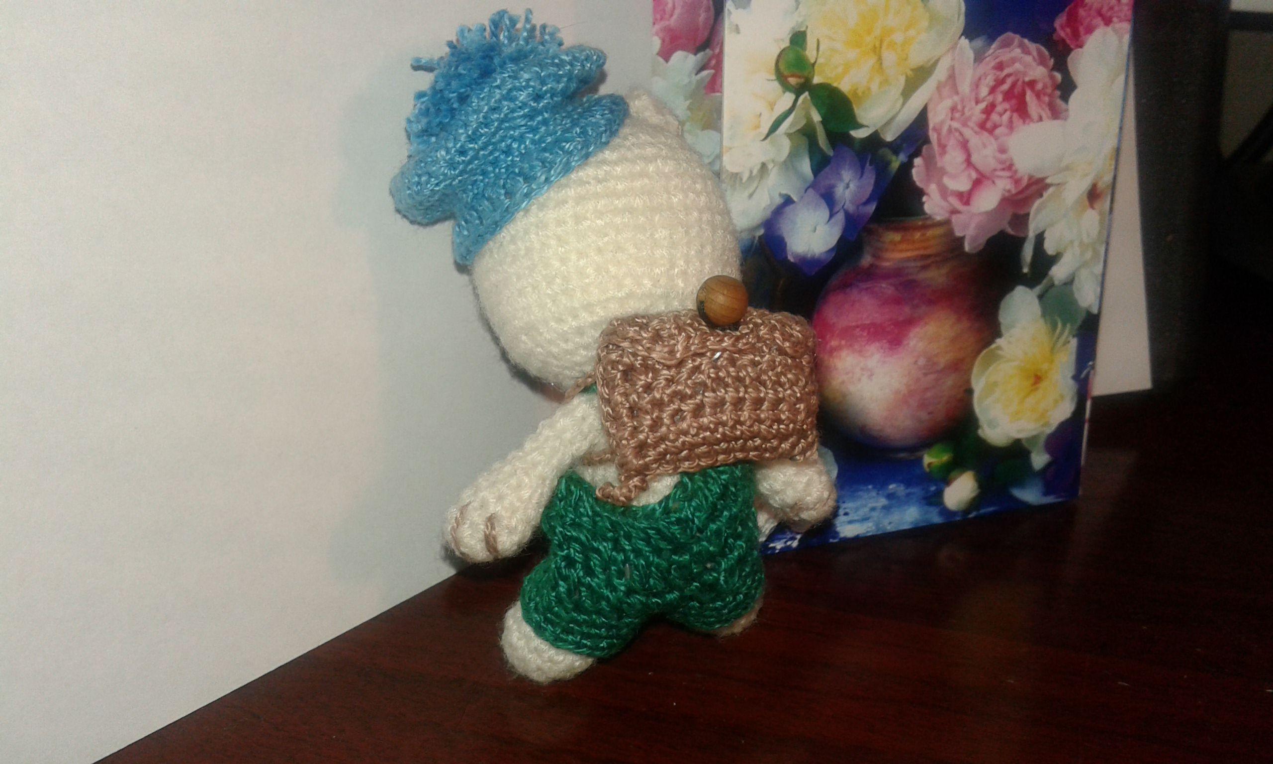 амигуруми брелок подарок мишкаигрушка