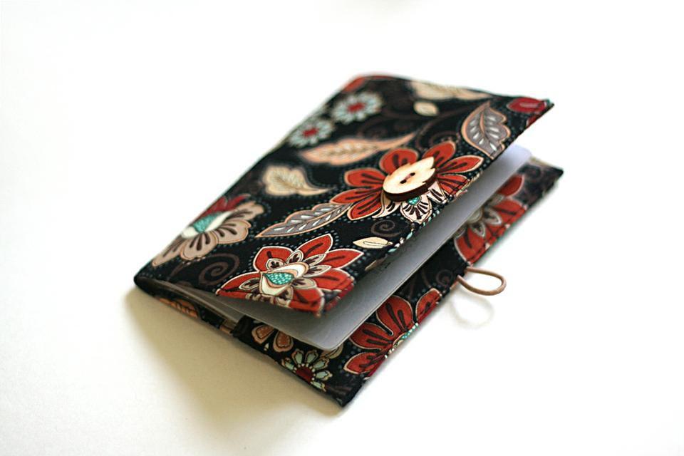 паспорт мастеркласс текстиль чехол на обложка