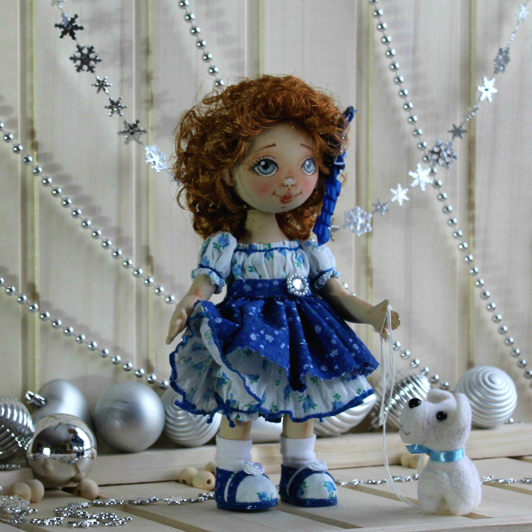 интерьерная любимая кукла праздник подарки текстильная