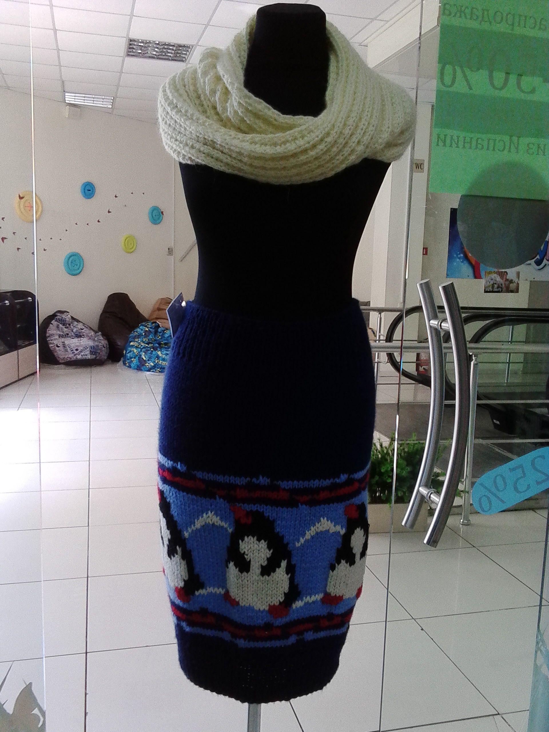 одежда узором теплый толстая вязка шерсти юбка теплая снуд